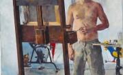אמנון דוד ער, דיוקן עצמי, 2006,