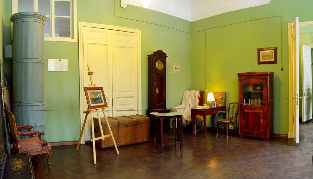 Квартира Анны Ахматовой в доме на Фонтанке